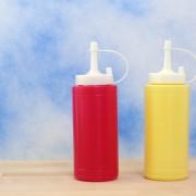 Homemade ketchup and mustard to dress up any dish