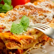 Dinner tonight: lasagna with a twist