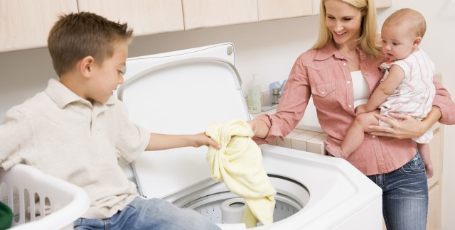 Choosing eco-friendly laundry appliances