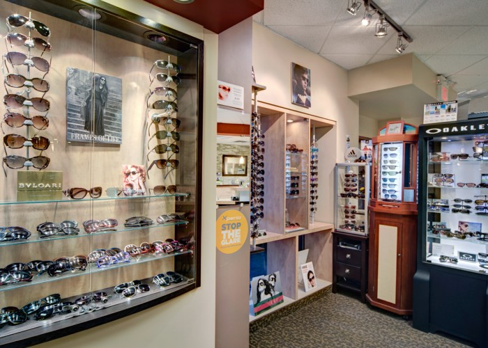 Routine eye health and vision exams, optical coherence tomography, contact lens fittings, eyewear, eye infection treatment