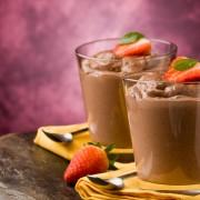 Luscious creamy desserts: 2 variations