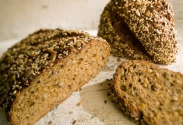 Hearty, tasty homemade multigrain bread