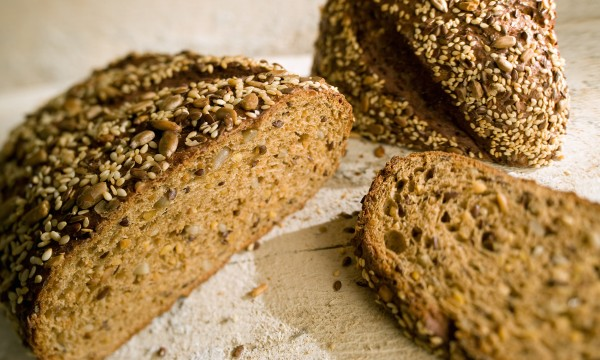 Hearty, tasty homemade multigrain bread