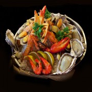 Dinner tonight: Belgian-style steamed mussels with garlic crisps