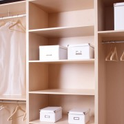 Increase storage with a closet organizer