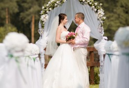 4 tips for holding an outdoor wedding