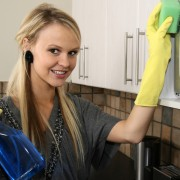 Clean your oven naturally with household products