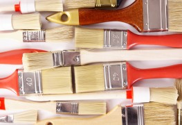 Easy tips for cleaning paint brushes & accessories