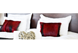 Pick perfect pillows and cozy cushions