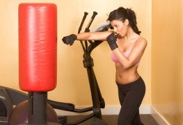 Tips for working out with a punching bag