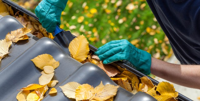 Tips for safely cleaning your roof