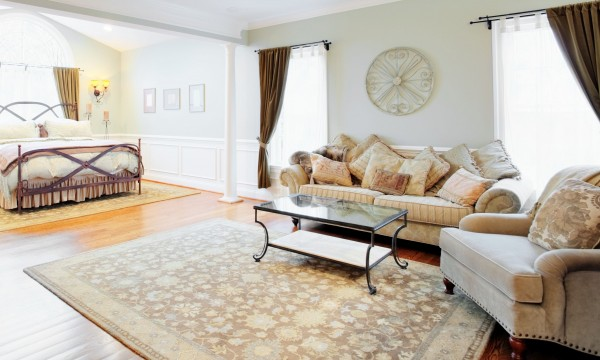 Area rugs add style and comfort to your space