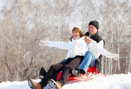 6 tips for hosting a winter sledding party