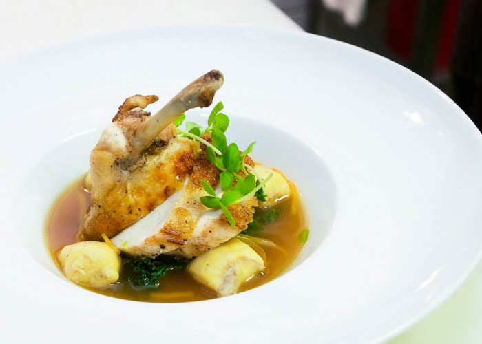 Bishop's specializes in seasonal dishes made with high quality, locally sourced ingredients.