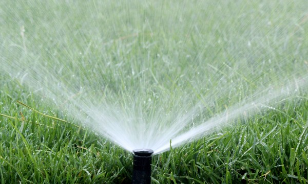 Water your lawn better with sprinklers
