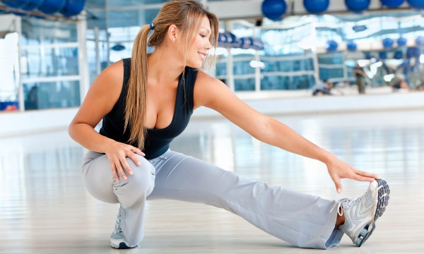 Afternoon stretches to improve flexibility and alertness