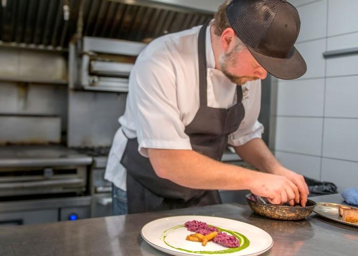 Summit Restaurant executive chef Sam Chalmers.