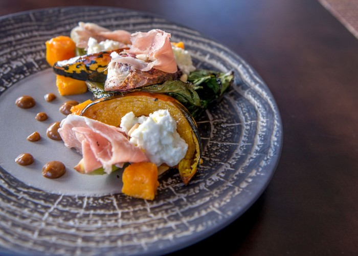 Summit Restaurant's executive chef Sam Chalmers excites diners' palates with educated farm-to-table fare.