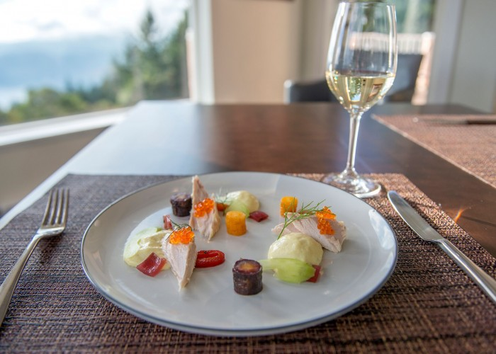 Summit Restaurant procures organic product from local producers, and also from their small on-site farm.