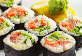 Recipe box staples: soufflés and sushi