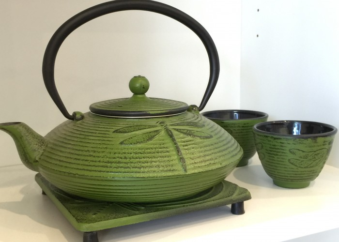 Tao Tea Leaf sells teaware, such as cast iron teapots, which help keep the tea warm for a longer period of time.