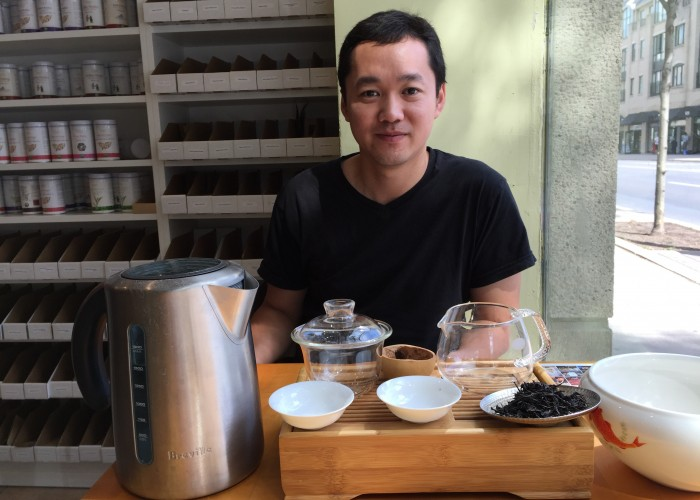 Born in the renowned tea-producing province of Fuji in China, Tao Wu is used to drinking the finest as a matter of course.