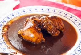 Savoury sauce recipe: Turkey mole