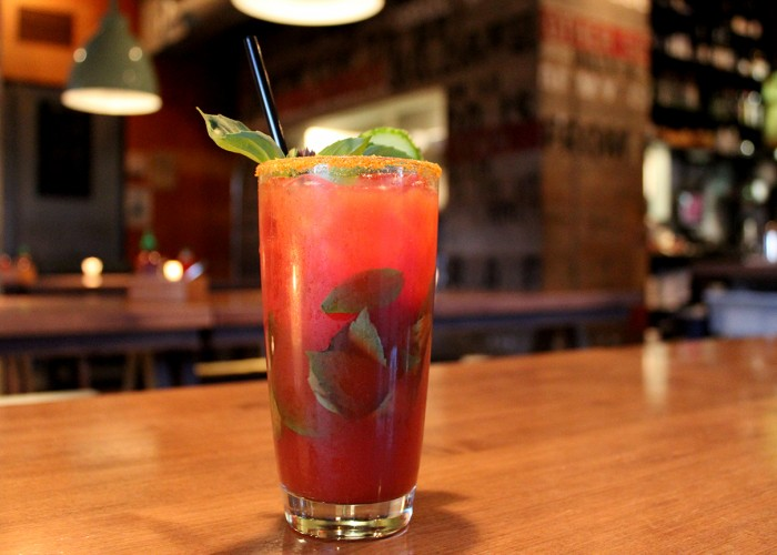 The Union's famous Caesar is ideal for brunch.