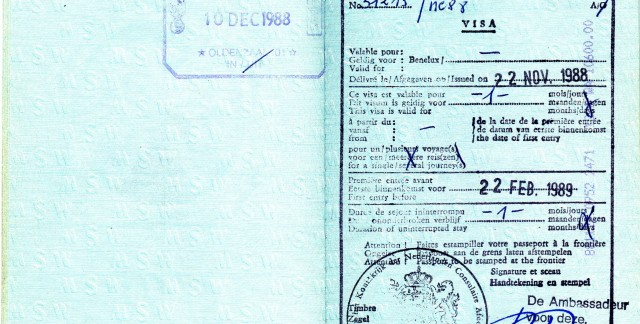 How to get a new visa while overseas