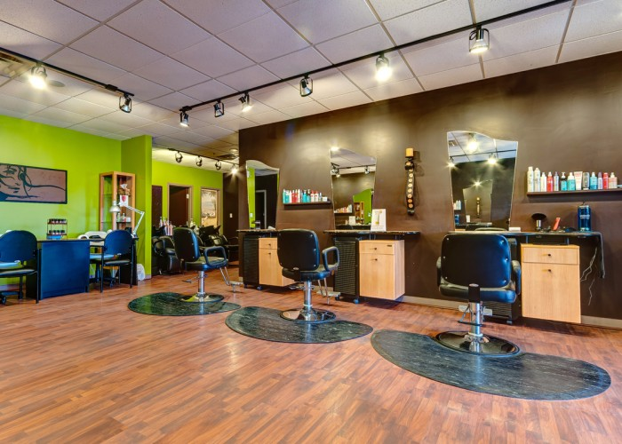 Haircuts, children's haircuts, colouring, perms, up-dos, hair extensions, chemical straightening, makeup application, lash and brow tinting, facials, waxing, makeup, manicures, pedicures, reiki, medium readings, certified hypnotherapy