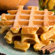 Breakfast recipes: pumpkin spice waffles and southern breakfast skillet
