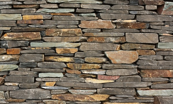 3 easy steps for a dry-stone wall
