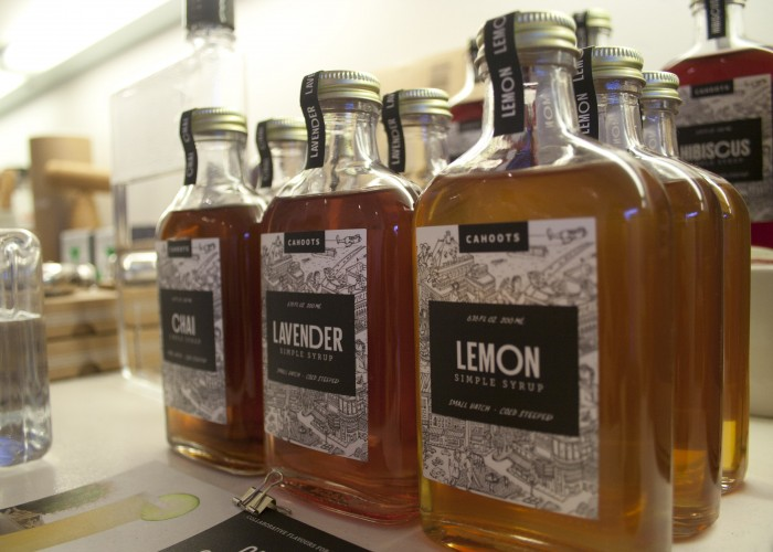 Walrus Design carries locally made cocktail syrups