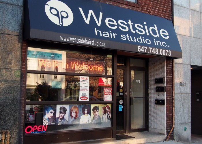 Westside Hair Studio, Unisex hairstyling, hair colour, manicures, pedicures, waxing, tanning