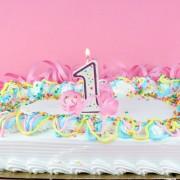 Homemade party-pleasing white cake