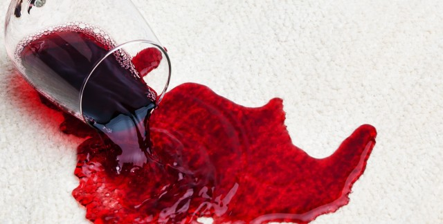 Easy tips for removing wine stains