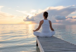 Yoga teaches us how to focus on our breathing