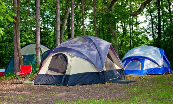 matelas camping sauvage