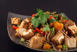Recette de nouilles soba au tofu