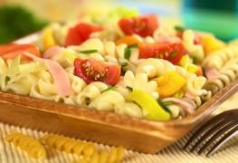 Recette de pâtes aux légumes crus