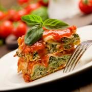 À table avec cette lasagne aux légumes rôtis