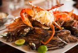 Recette avec des superaliments: riz aux fruits de mer et aux légumes