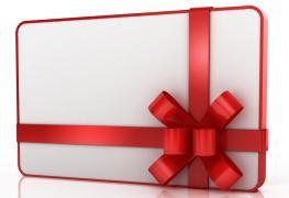 Les cinq avantages les plus étonnants de cartes-cadeaux