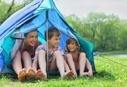 Conseils simples pour camperavec des enfants avec un impact minimum