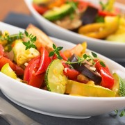 Recette de piments au fromage avec des légumes