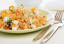 Recette de salade de quinoa à la patate douce