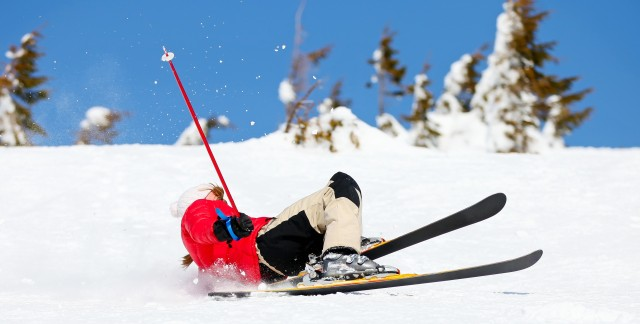 Les douleurs au genou: une problème commun pour les skieurs