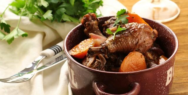2 recettes de poulet avec deslégumes