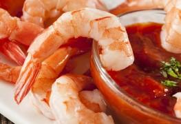 Recette de crevettes grillées et sauce cocktail