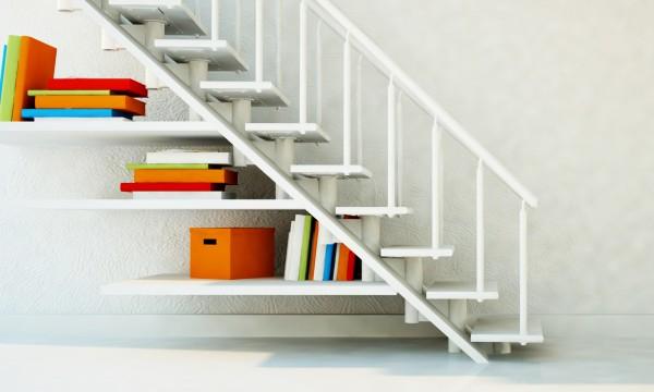 7 idées parfaitespour maximiser l'espace sous votre escalier